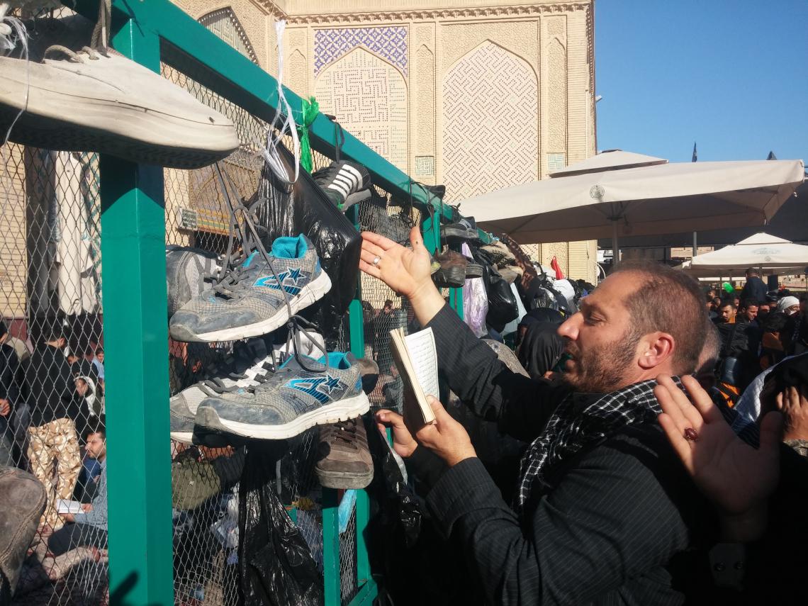 سوگواره سوم-عکس 15-محمد حسین کلهر-پیاده روی اربعین از نجف تا کربلا