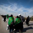 سوگواره سوم-عکس 1-عباس عزیزپور-پیاده روی اربعین از نجف تا کربلا