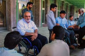 هشتمین سوگواره عاشورایی عکس هیأت-حمید عابدی-ویژه-خدمات اجتماعی هیأت