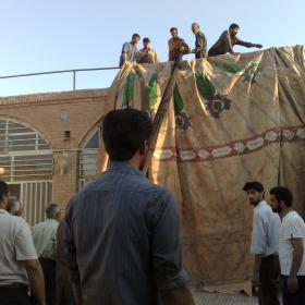 سوگواره پنجم-عکس 108-حسین رضائی سردره-جلسه هیأت
