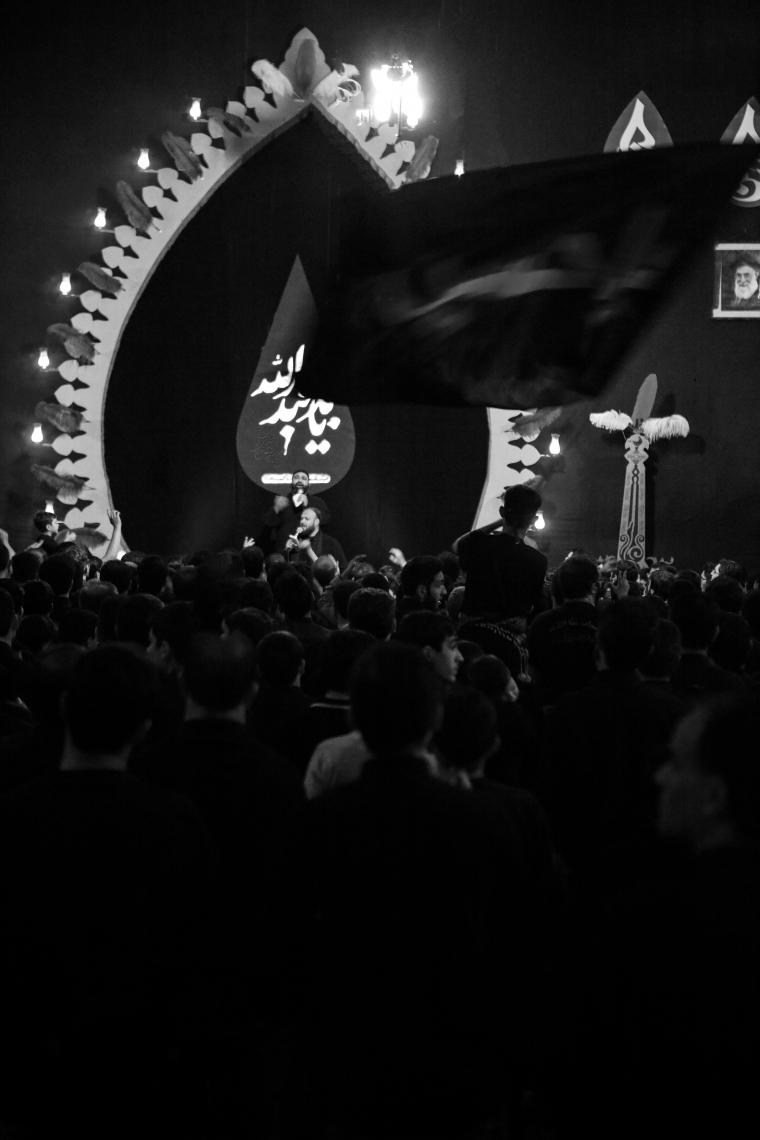 سوگواره پنجم-عکس 158-حسین رضائی سردره-جلسه هیأت