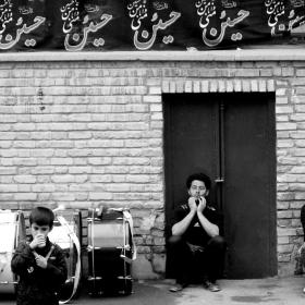 سوگواره چهارم-عکس 43-مسعود جعفری-جلسه هیأت فضای بیرونی