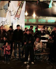 سوگواره دوم-عکس 9-محمد حیدریان-جلسه هیأت فضای بیرونی