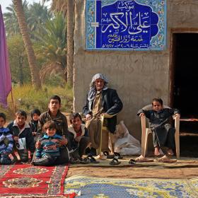 سوگواره چهارم-عکس 13-حسین علی پور-پیاده روی اربعین از نجف تا کربلا