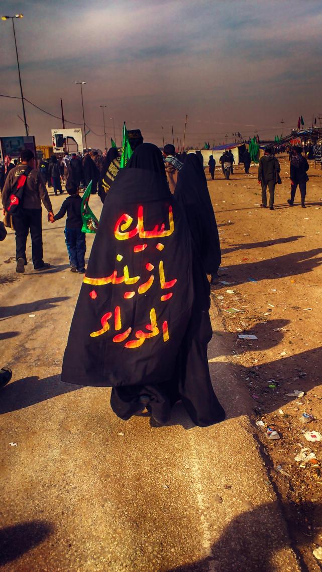 سوگواره دوم-عکس 5-رضا جودی-پیاده روی اربعین از نجف تا کربلا