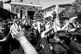 نهمین سوگواره عاشورایی عکس هیأت-Amir Masoud Arabahahi-مجالس احیای امر اهلالبیت علیهمالسلام