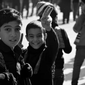 سوگواره چهارم-عکس 37-سید محمد جواد ضمیری هدایت زاده-پیاده روی اربعین از نجف تا کربلا