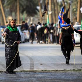 سوگواره پنجم-عکس 55-محمد حسن صلواتی-پیاده روی اربعین از نجف تا کربلا