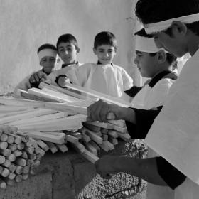سوگواره پنجم-عکس 21-محمدرضا بهمرام-جلسه هیأت فضای بیرونی