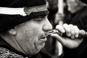 سوگواره سوم-عکس 10-سید محمد جواد ضمیری هدایت زاده-پیاده روی اربعین از نجف تا کربلا
