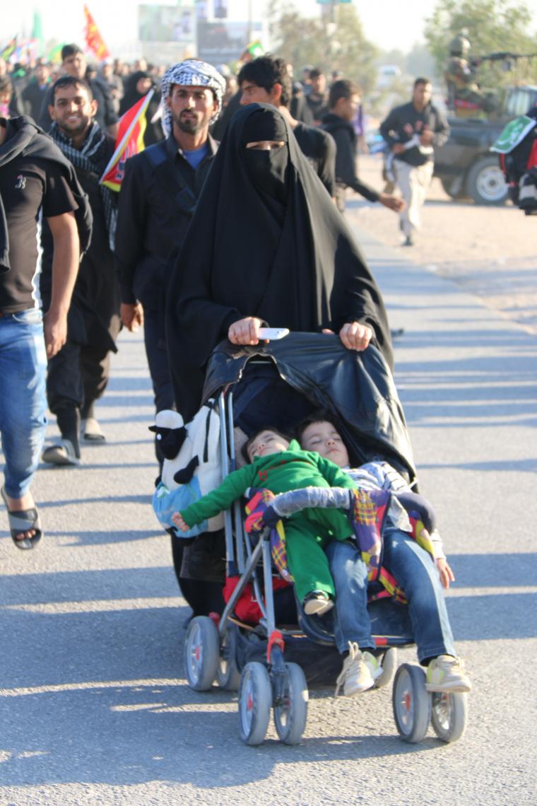 سوگواره چهارم-عکس 5-محمد رضا میثمی-پیاده روی اربعین از نجف تا کربلا