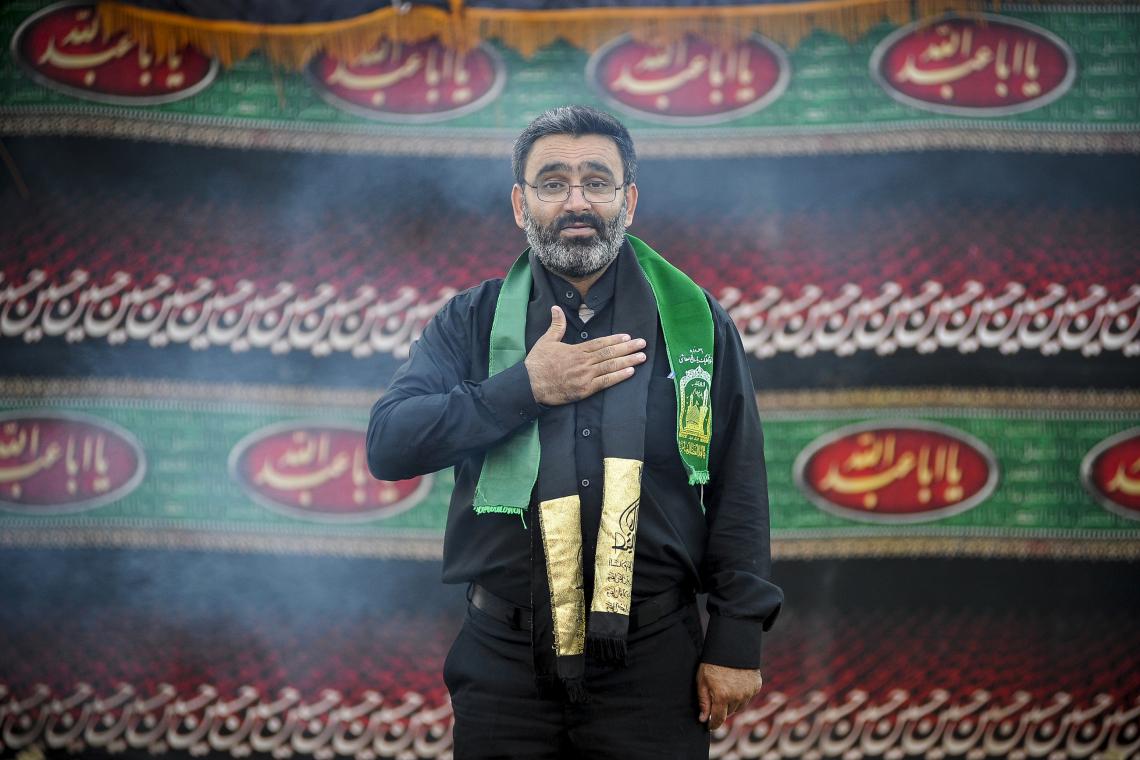 سوگواره پنجم-عکس 13-مسعود محمدی-جلسه هیأت فضای بیرونی