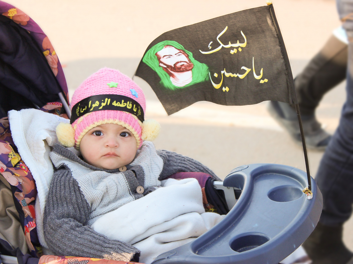 سوگواره سوم-عکس 11-عبدالحسین عبدی-پیاده روی اربعین از نجف تا کربلا