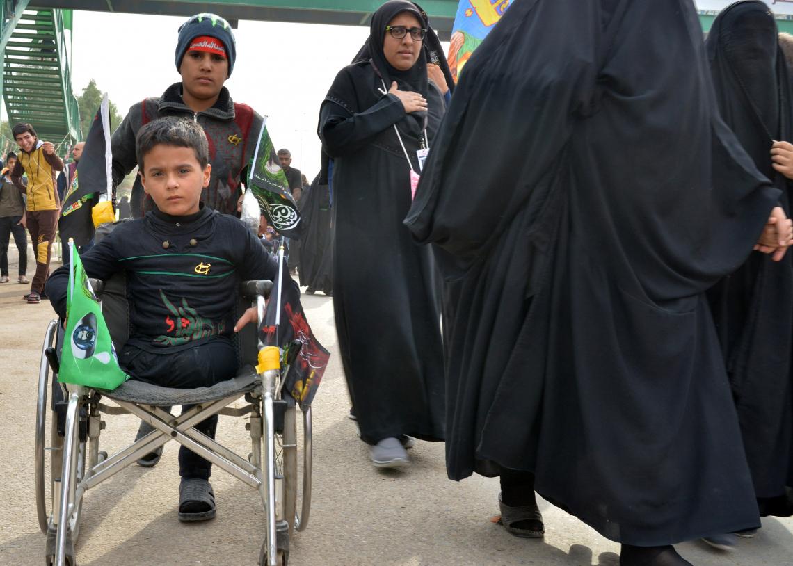 سوگواره چهارم-عکس 58-سید محمد جواد صدری-پیاده روی اربعین از نجف تا کربلا