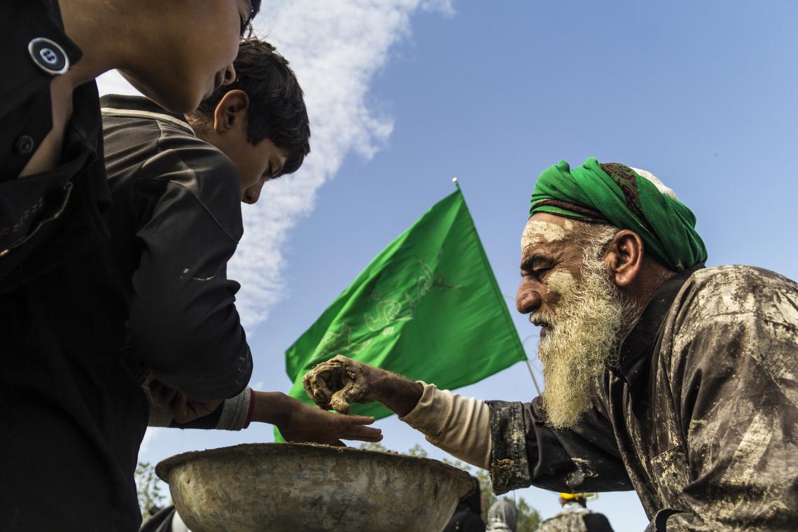 سوگواره پنجم-عکس 79-علی ابک-پیاده روی اربعین از نجف تا کربلا