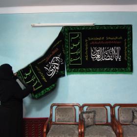 سوگواره چهارم-عکس 109-احمدرضا کریمی-آیین های عزاداری