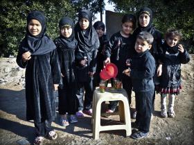 سوگواره چهارم-عکس 20-حمید رضا حبیبی محب سراج-پیاده روی اربعین از نجف تا کربلا