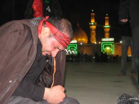 سوگواره دوم-عکس 3-مصطفی میرزایی-پیاده روی اربعین از نجف تا کربلا