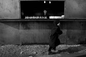 سوگواره سوم-عکس 70-حسین استوار -پیاده روی اربعین از نجف تا کربلا