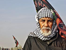 سوگواره چهارم-عکس 34-حمید رضا حبیبی محب سراج-پیاده روی اربعین از نجف تا کربلا