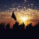 سوگواره چهارم-عکس 13-مسلم محمدی-پیاده روی اربعین از نجف تا کربلا