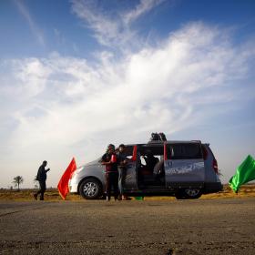 سوگواره سوم-عکس 50-حسین استوار -پیاده روی اربعین از نجف تا کربلا