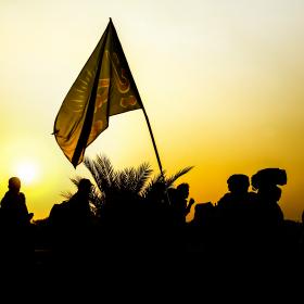 سوگواره پنجم-عکس 49-محمدرضا پارساکردآسیابی-پیاده روی اربعین از نجف تا کربلا