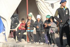 سوگواره دوم-عکس 10-ابراهیم نصیری-پیاده روی اربعین از نجف تا کربلا