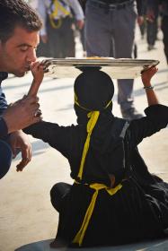 سوگواره سوم-عکس 7-حسین علی پور-پیاده روی اربعین از نجف تا کربلا