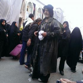 سوگواره سوم-عکس 6-محمد باقری-پیاده روی اربعین از نجف تا کربلا