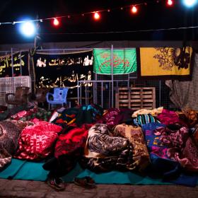 سوگواره چهارم-عکس 19-محمد رضا میثمی-پیاده روی اربعین از نجف تا کربلا