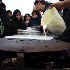 سوگواره دوم-عکس 31-محمدامین غفاری-پیاده روی اربعین از نجف تا کربلا