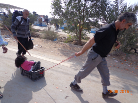 سوگواره سوم-عکس 16-علی مقنی-پیاده روی اربعین از نجف تا کربلا