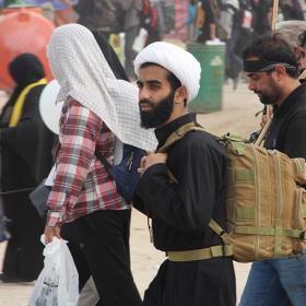 سوگواره چهارم-عکس 22-علی دوست-پیاده روی اربعین از نجف تا کربلا