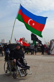 سوگواره پنجم-عکس 2-مسعود اسماعیلی-پیاده روی اربعین از نجف تا کربلا