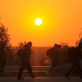 سوگواره سوم-عکس 29-احمد قارداش پور طرقی-پیاده روی اربعین از نجف تا کربلا
