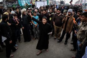سوگواره پنجم-عکس 6-محمد حسین مددی-پیاده روی اربعین از نجف تا کربلا