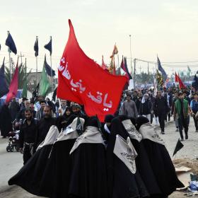 سوگواره سوم-عکس 24-سید مصطفی عطاری-پیاده روی اربعین از نجف تا کربلا