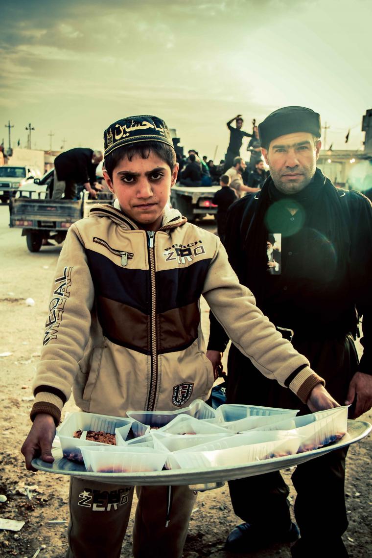 سوگواره سوم-عکس 17-امید نائینی-پیاده روی اربعین از نجف تا کربلا
