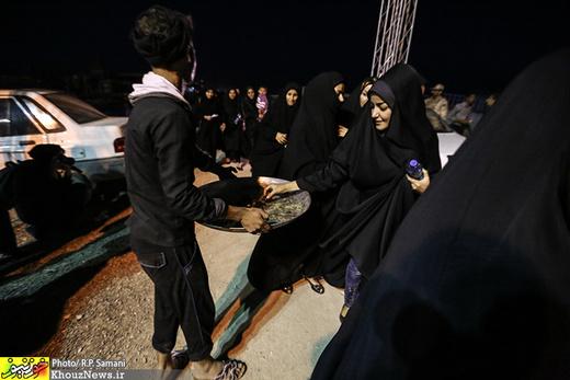 سوگواره سوم-عکس 83-روح اله پورسامانی-پیاده روی اربعین از نجف تا کربلا