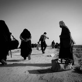 سوگواره سوم-عکس 60-حسین استوار -پیاده روی اربعین از نجف تا کربلا