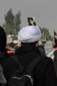 سوگواره سوم-عکس 26-احمد قارداش پور طرقی-پیاده روی اربعین از نجف تا کربلا