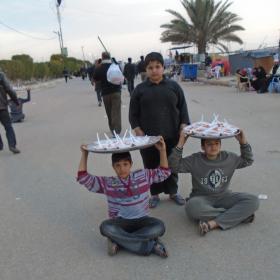 سوگواره پنجم-عکس 8-علی سهرابی-پیاده روی اربعین از نجف تا کربلا