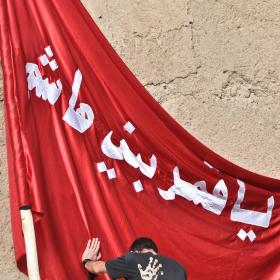 سوگواره دوم-عکس 7-امیر حسین علیداقی-جلسه هیأت فضای بیرونی