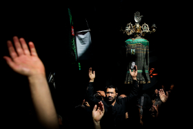 سوگواره پنجم-عکس 18-حامد ملک پور-جلسه هیأت