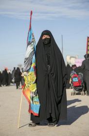 سوگواره سوم-عکس 22-علی بیات-پیاده روی اربعین از نجف تا کربلا