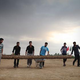 سوگواره سوم-عکس 30-حسین استوار -آیین های عزاداری
