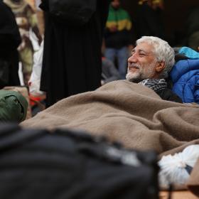 سوگواره چهارم-عکس 3-محمد امین محمودی-پیاده روی اربعین از نجف تا کربلا