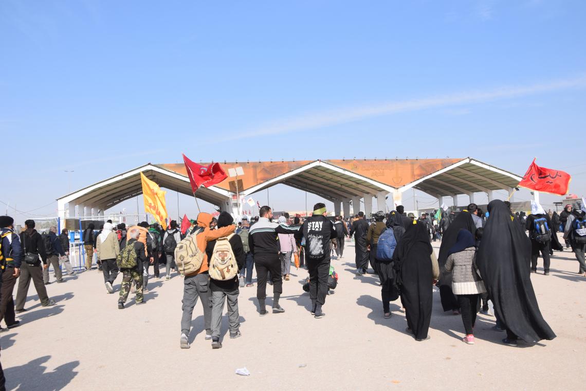 سوگواره پنجم-عکس 8-محمد وحیدیان-پیاده روی اربعین از نجف تا کربلا