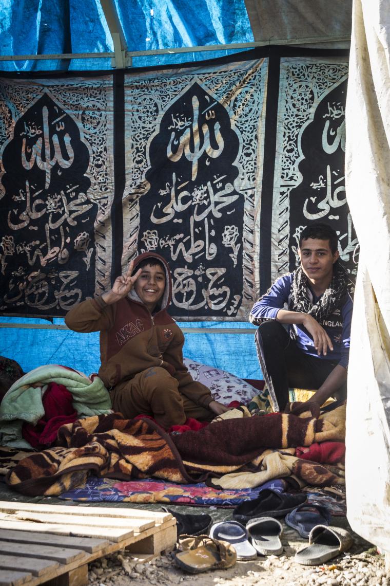 سوگواره پنجم-عکس 34-علی ابک-پیاده روی اربعین از نجف تا کربلا